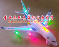 3c bus a380 toy electric toy plane jetliner band music