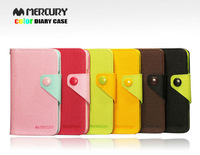 For Galaxy S3 i9300 I9308 Leather Protective Sleeve Two-Color Leather Case factory to sell