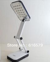 24 LED Foldable Desk Lamp Rechargeable Portable Soft Light Night Reading Lamp