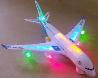 A380 bus large electric toy flash music electric passenger plane Large