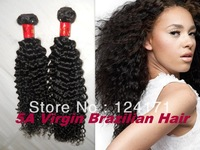2013 new arrival cheap 5A unprocessed virgin brazilian human hair extension dyeable natural color kinky twist curl on sell