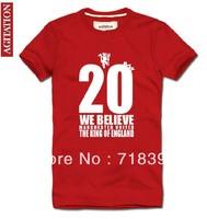 2013 movement for football fans t shirt T-shirt 2013 t shirt for football