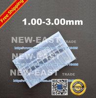 Free Shipping - 10pcs New 1.00-3.00mm  1.00MM 1.50MM 2.00MM 2.50MM 3.00MM PCB endmills, cnc router tool, mini end mill set.