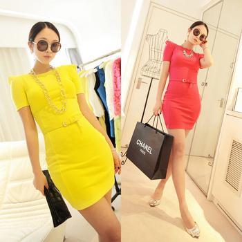 2013 New Arrival Summer Denim Long Skirt Female Denim Skirt Fashion Women's Cotton Full Office Lady Blouse Dress