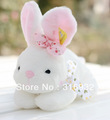 Super cute large ear rabbit plush toys, good quality, 1pc, color: white or pink