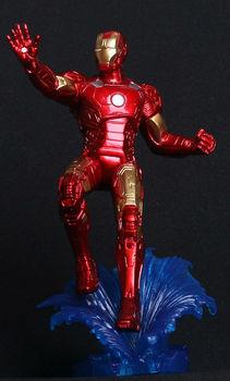 IRON MAN 3 action figures toys Mark XLII  PVC 20cm height  movie series toys Free shipping