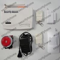 New Wireless Home Security GSM voice Burglar Alarm system w Auto-dialer CCTV Surveillance