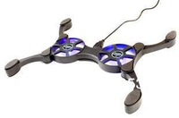 Octopus Radiator Folding Dual Fan USB Cooling Rack PC Octopus Notebook Cooler[1016]