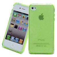 For iphone 4s shell for apple 4 mobile phone case silica gel set of transparent clear water protective case
