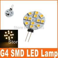 20 pcs G4 2.2W 190-Lumen 12 SMD 5050 LED Home Spotlights Warm White Bulb Lamp DC 12V lights bulb 982