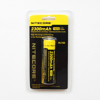 Nitecore charge lithium battery 18650 new arrival 2300mah xunlida flashlight