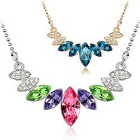 Fashion jewelry   Yiwu jewelry products high-end Austrian crystal necklace - the queen of fashion 4429-86