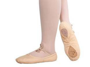 Wholesale 40% OFF Dttrol Cheap Children's Hand stitch Split Sole Canvas Soft Ballet Shoes Dance Slipper D004708(China (Mainland))