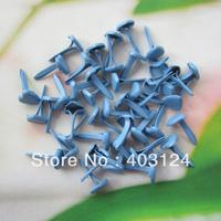 200pcs 6mm heart shape metal brad /DIY scrapbook brad/album brads/(B103)--free shipping