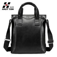 Hot sailing Fine man bag male handbag cowhide business casual messenger bag man bag one shoulder briefcase bag