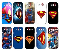 new skin design superman case hard back cover for samsung Galaxy SIII/i9300 10PCS/lot+free shipping