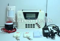 New 99 zone Wireless GSM/ Landline Home Security Alarm System