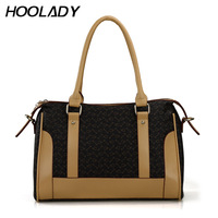 Free Shipping Hoolady 2013 Women's Spring Handbag Fashion Bone Bag Messenger Bag H 12008