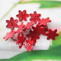 100pcs 18mm flower shape metal brad /DIY scrapbook brad/album brads/(Ba10)--free shipping
