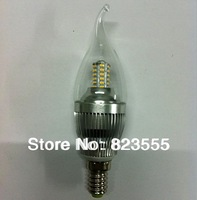 5W high brightess LED candle bulb,unique new design with higher efficiency and CRI