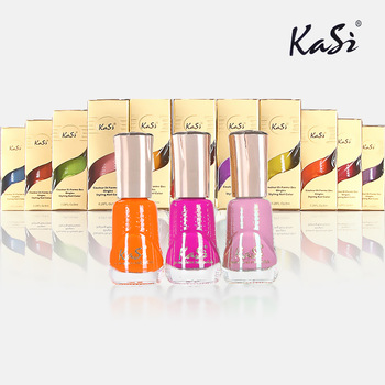Kasi nail polish oil water based eco-friendly multicolour nail polish oil 23 - 46 8ml
