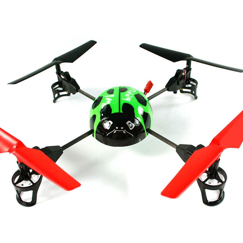 Big ladybug remote control model aircraft helicopter 2.4g shaft flight 3d rotating lcd(China (Mainland))