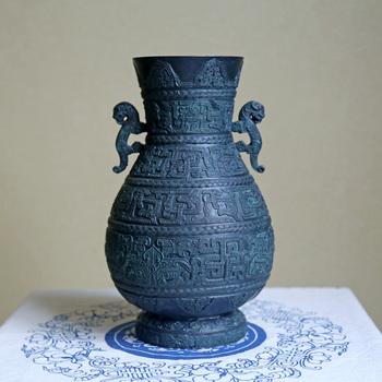 bronce dragón maceta avanzada de cobre artesanía decoración artesanía artículos hechos a mano