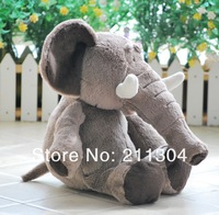 Free Shipping NICI High Quality Lovely Elephant Stuffed Plush Toys 35cm Elephant Doll Children Christmas Gifts Birthday Gift