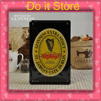 [ Do it ] Guinness EXTRA STOUT Beer Metal paintings Home Decoration Vintage Beer Poster painting 20*30 CM Free shipping
