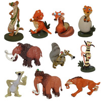 NEW 10pcs/set 5-8cm ice Age Figures Figure Doll ICE AGE 4 toy pvc Action figuresToys Free Shipping