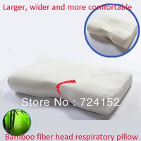 100% bamboo fibercover 35x54 Slow rebound memory foam pillow cervical health care