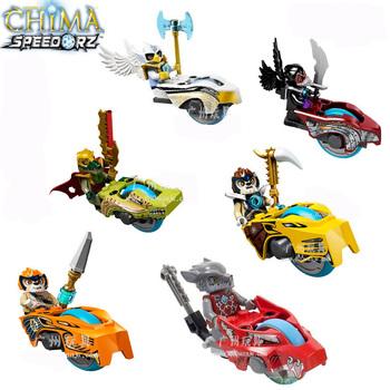 Ninjago Legends Chima Minifigure 6pcs/lot building blocks 3D DIY assembling educational toy Children birthday gift Free Shipping