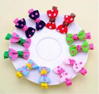 Wholesale(40piece/lot)Free Shipping Fashion Children Girl Hair Clip children's hair accessories/hair ornaments bows for girls