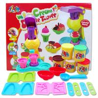 Dough plasticine creative mud ice cream ice cream mould toiletry kit Learning & Education