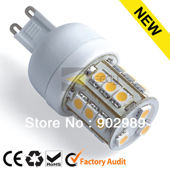 hot sale led spot lights 85-265V G9 24 smd 5050