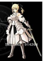 Fate Stay Night Saber lily Armour Cosplay Costume FRP  / free shipping