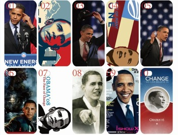 new skin design Barack Obama case hard back cover for iphone 5 5th 5s 10PCS/lot case+free shipping