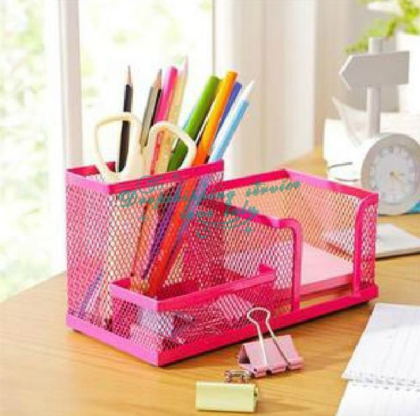 Classic Desktop finishing storage box storage box office desktop pen holder Hot Drop Shipping/Free Shipping(China (Mainland))