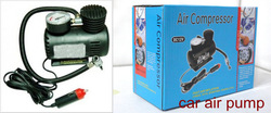 promotion price high quality 12V Car Auto Electric Air Pump car tire Compressor pump Free Shipping(China (Mainland))