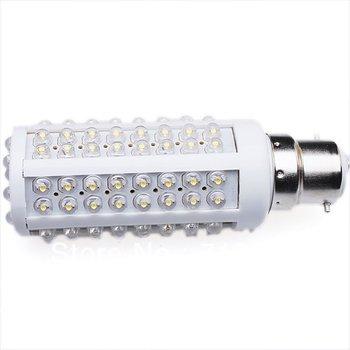 1pc Ultra bright LED bulb 7W 220V B22  White light LED lamp with 108 led Spot light wholesale retail  710090