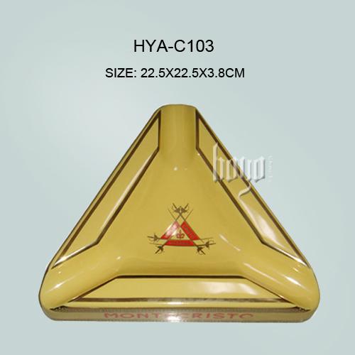 Top quality !!! montecristo Ceramic ashtray(China (Mainland))