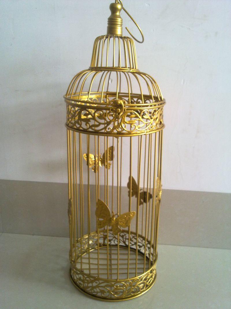 Ferro forjado gaiola de pássaro casamento francês adereços decoração piaochuang(China (Mainland))