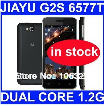 Free shipping original Jiayu G2s phone mtk6577t dual core 1.2G 1GB Ram 4GB Rom russian menu/Oliver