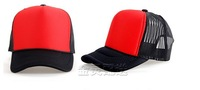 Brand New  Mesh Hand painted Cap hip-hop Cap Team Cap Trucker Hat Cap Women / Ladies Junior Red/Black NO34680