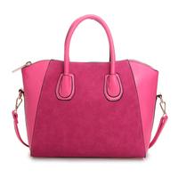 Free shipping  women's handbag high quality nubuck leather handbag one shoulder cross-body handbag casual women's bag
