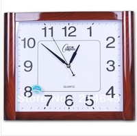j21/Free shipping Silent wall clock quartz clocks in the living room
