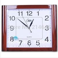 j21/Free shipping Silent wall clock quartz clocks in the living room