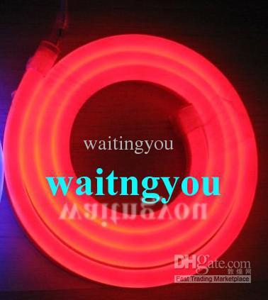 Newest LED Neon sign light flex rope the for PVC LED light for Night bar, Disco AC220V/110V(China (Mainland))