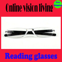 Free shipping fashion women and men reading glasses plastic nerd  frames +2.25,+2.75,+3.00,+3.25,+3.50,+3.75,+4.00