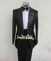 Male formal dress suits costume men's clothing wedding dress